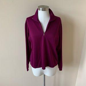 Patagonia women's half zip mock neck pullover 6066